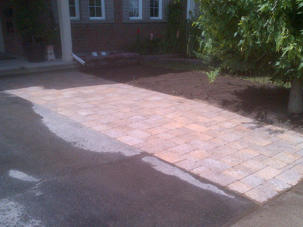 Driveway expansions interlock landscape pool ottawa ground fx landscape construction walkwaydriveway widening expansion solutioingenieria Images